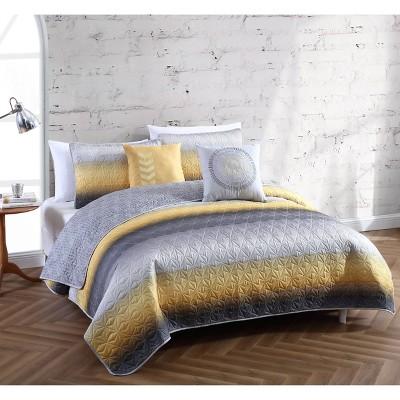 Cypress 5pc Quilt Set