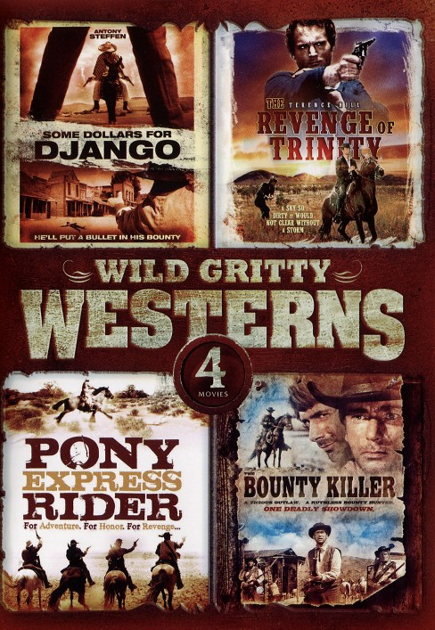 4 movie wild gritty westerns (DVD) - image 1 of 1