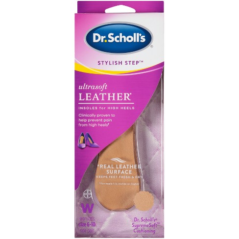 Dr. Scholl's Stylish Step UltraSoft Leather for High Heels Women Size 6-10 - image 1 of 2