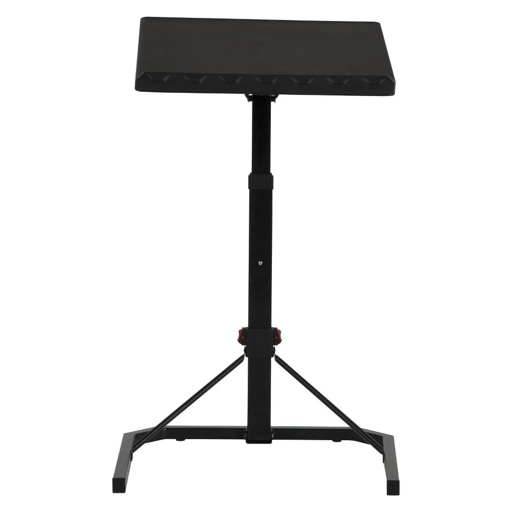 Image of Cosco Multi Functional Adjustable Personal Folding Table Black
