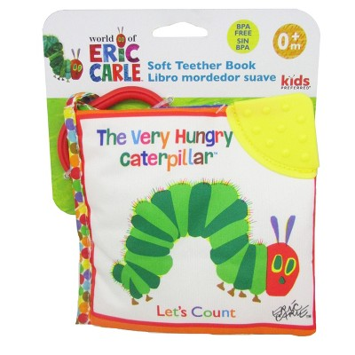 Eric Carle Hungry Catapillar Soft Book White
