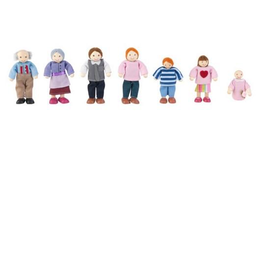KidKraft Doll Family of 7 - Caucasian image number null
