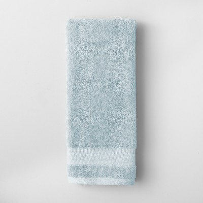 Solid Hand Towel Quiet Aqua - Made By Design™