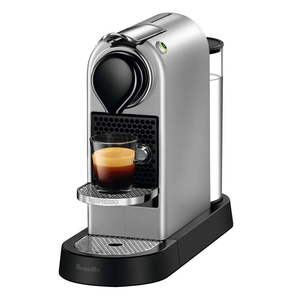 Image of Nespresso CitiZ's Silver by Breville, Medium Silver