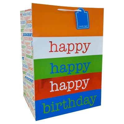 XLarge Happy Birthday Gift Bag - Spritz™