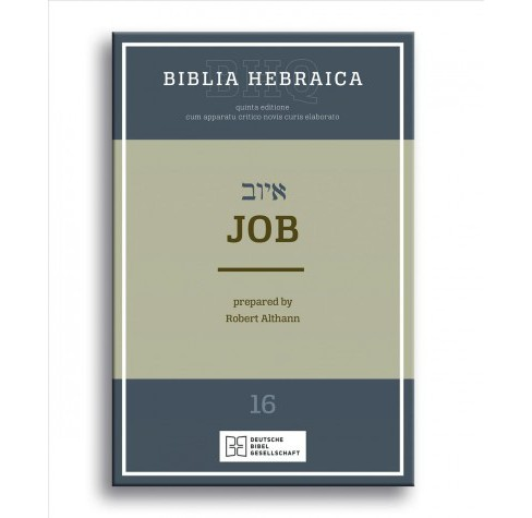 Biblia Hebraica Quinta : Job -  by Robert Althann (Paperback) - image 1 of 1