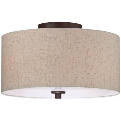 Regency Hill Modern Ceiling Light Semi