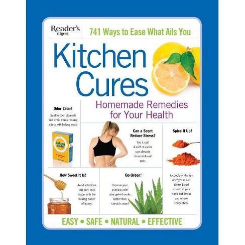 Reader's Digest Kitchen Cures - by  Editor's at Reader's Digest (Paperback) - image 1 of 1
