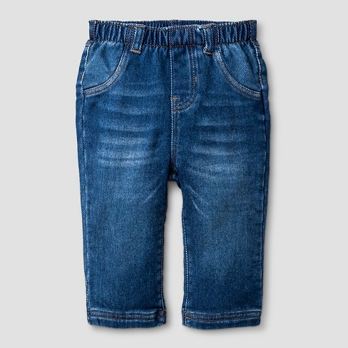 Baby Boys' Jeans - Cat & Jack™ Medium Wash - image 1 of 2