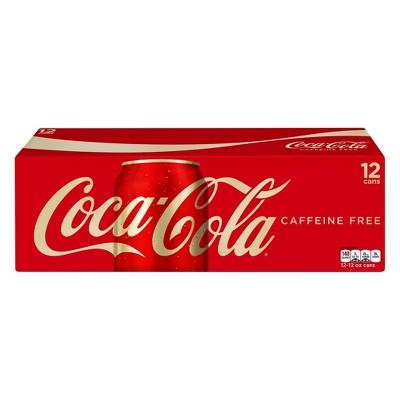 Coca-Cola Caffeine Free 12pk/12 fl oz Cans
