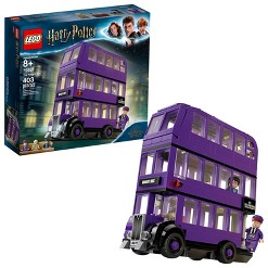 LEGO Harry Potter The Knight Bus Triple Decker Toy Bus Building Kit 75957