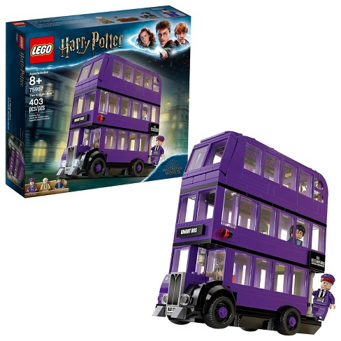 LEGO Harry Potter The Knight Bus 75957 Triple Decker Toy Bus Building Kit 403pc - image 1 of 4