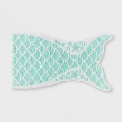 Mermaid Tail Bath Rug Crystalized Green - Pillowfort™
