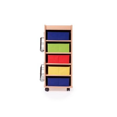 Kids' Storage Cart with Bins - Guidecraft