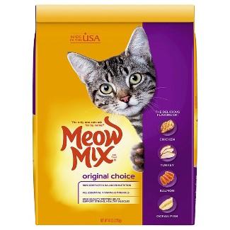 Meow Mix® Original Choice Dry Cat Food : Target