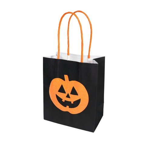 Halloween Treat Sacks Pumpkin Favor Bag - Spritz™ - image 1 of 2