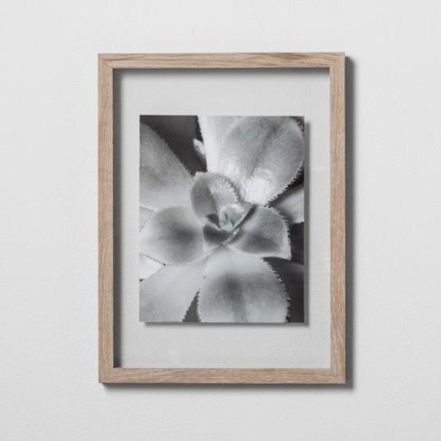 Single Image Frame Alabaster Oak Light Beige 11x15 Made By