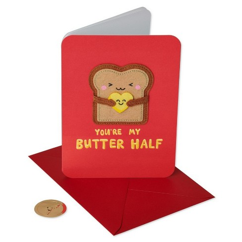 """Butter Half"" Greeting Card - PAPYRUS - image 1 of 4"