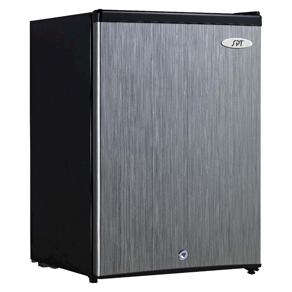 Sunpentown 2.1 Cu.Ft. Upright Freezer – Stainless Steel UF-214SS, Black 16854822