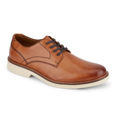 Dockers Mens Parkway Leather Dress Casual Oxford Shoe with NeverWet