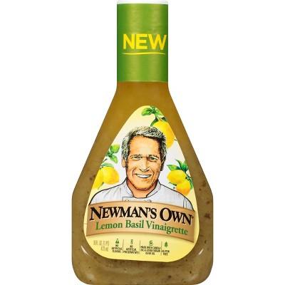 Newman's Own Lemon Basil Italian Dressing - 16fl oz