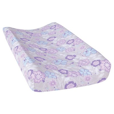 Trend Lab Changing Pad Covers - Grace - Lavender