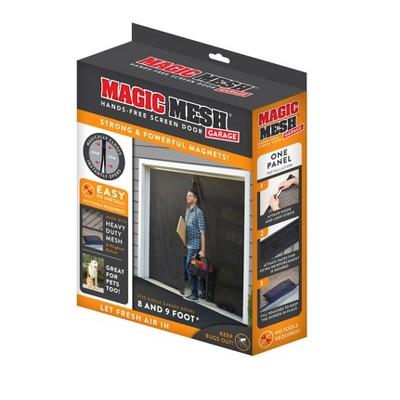 Magic Mesh Hands-Free Garage Screen Door
