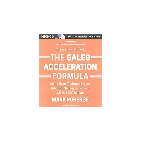 sales acceleration formula using data technology and inbound