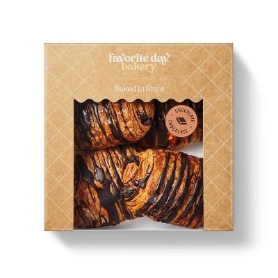 Chocolate Croissant - 11.2oz/4ct - Favorite Day™