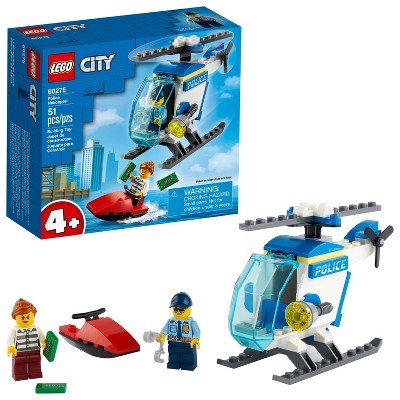LEGO City Police Helicopter Building Kit 60275