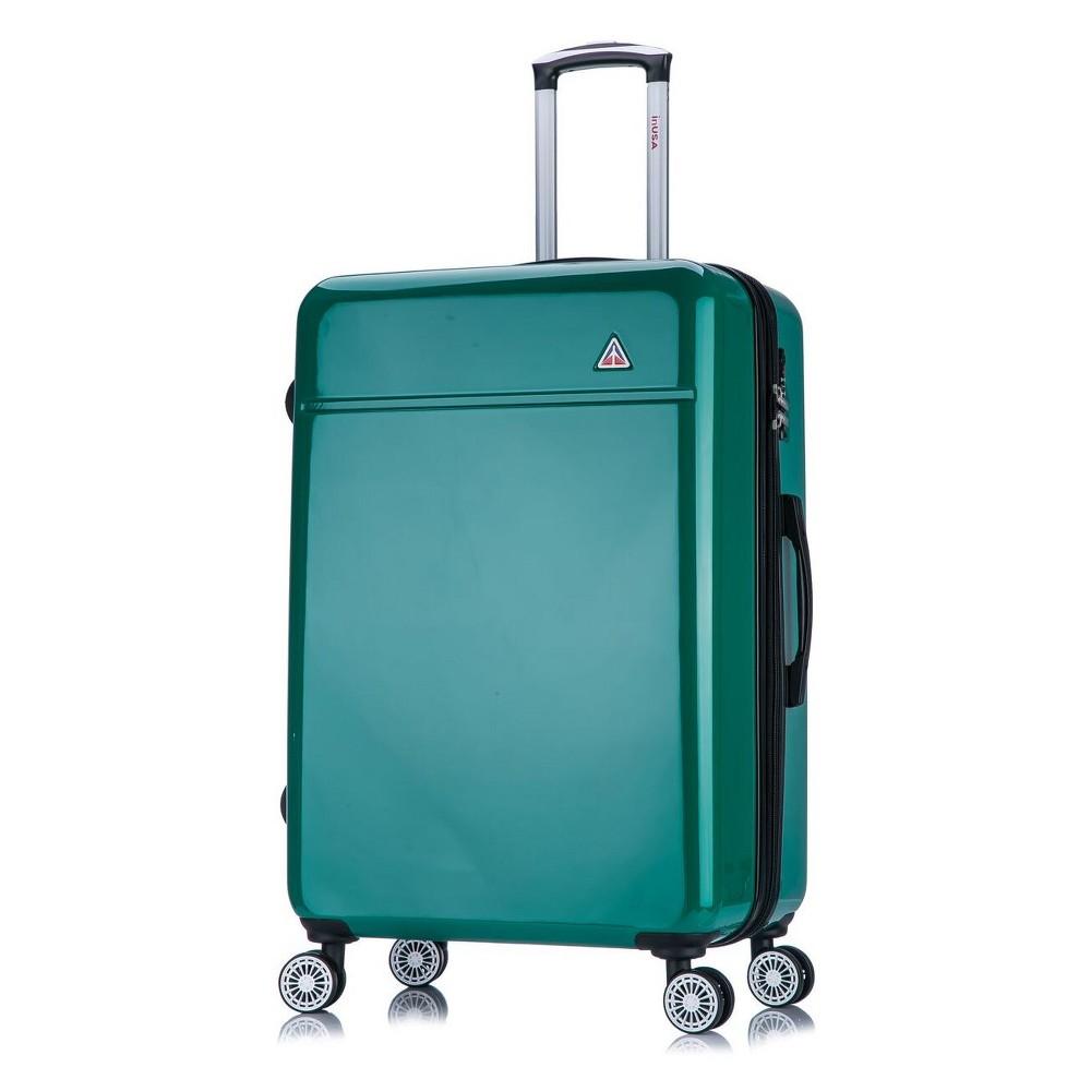 "Image of ""InUSA Avila 28"""" Hardside Spinner Suitcase - Green"""