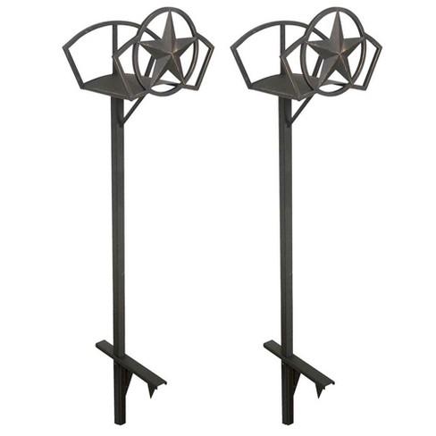 Liberty Garden Decorative Steel Liberty Star Garden Hose Storage Stand (2 Pack) - image 1 of 3
