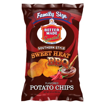 Better Made Special Southern Style Sweet Heat BBQ Flavored Potato Chips - 9.5oz