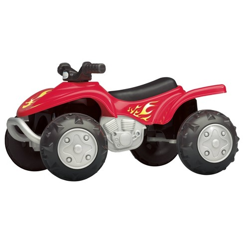 American Plastic Toy Quad Rider - image 1 of 3