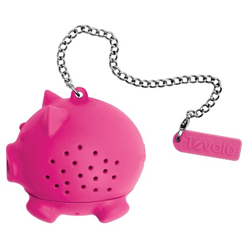 Tovolo Novelty Silicone Tea Infuser - Pig - image 1 of 1