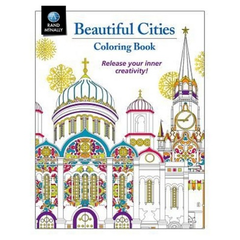 Beautiful Cities Coloring Book (Paperback) by Rand McNally and Company - image 1 of 1