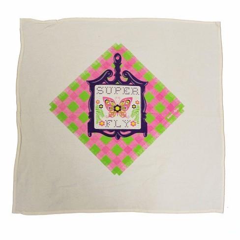 "Crowded Coop, LLC Flour Sack 30""x30"" Kitchen Towel - Super Fly Trivet - image 1 of 1"