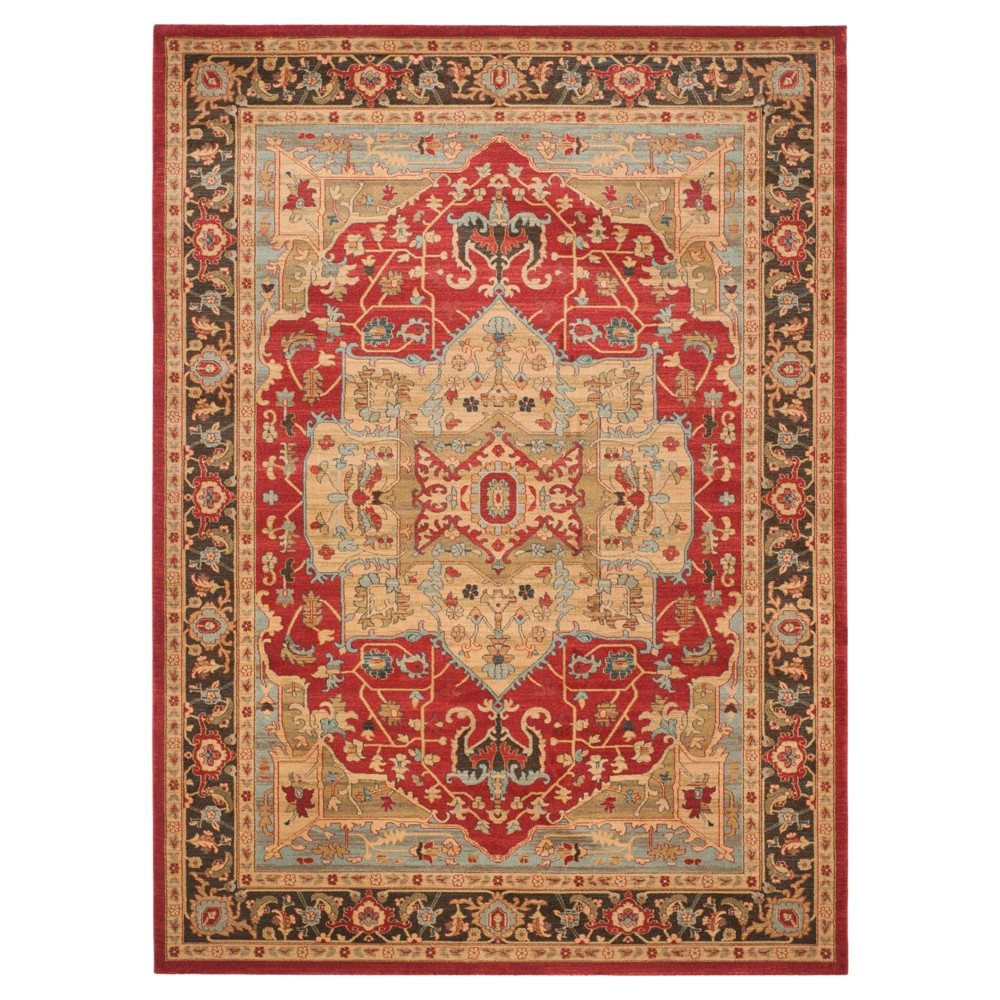 Hawly Area Rug Natural Red 8 39 X11 39 Safavieh