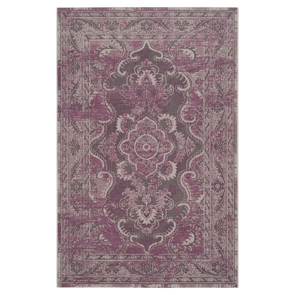 Scarlet Area Rug - Gray / Purple (5' X 8') - Safavieh, Gray/Purple