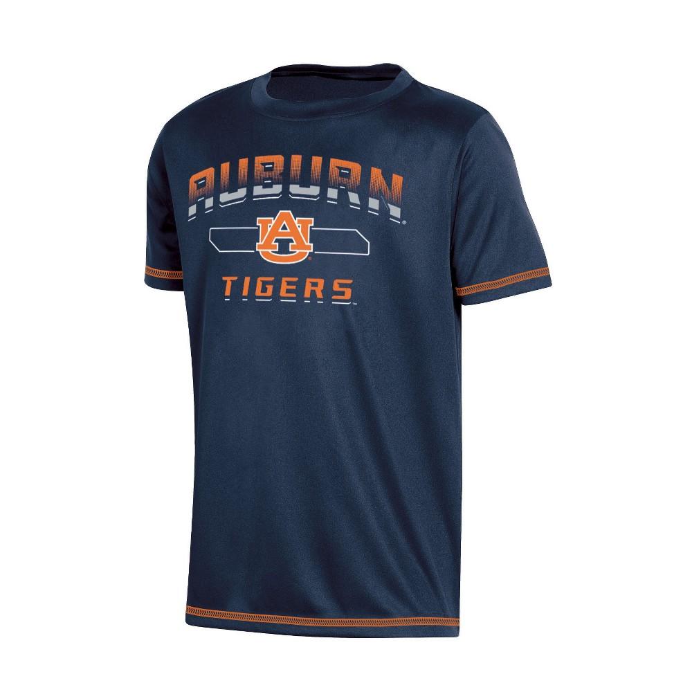 NCAA Boys' Poly T-Shirt Auburn Tigers - M, Multicolored