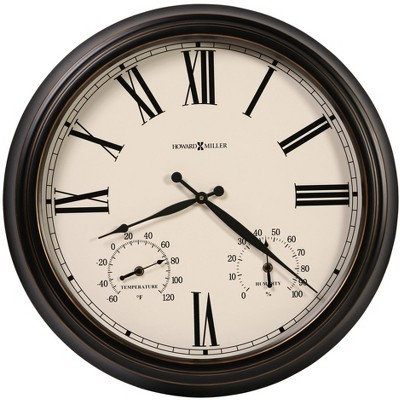 Howard Miller 625677 Howard Miller Aspen Outdoor Wall Clock 625-677