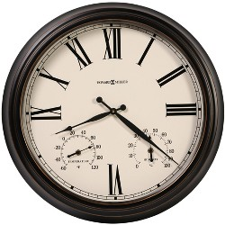 Howard Miller 625677 Aspen Outdoor Wall Clock