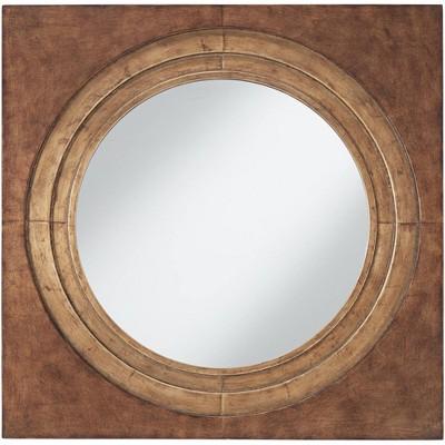 "Uttermost Allegro Antique Gold 30"" Square Wall Mirror"