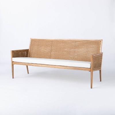 Benmore Wicker & Metal Patio Sofa - Threshold™ designed with Studio McGee