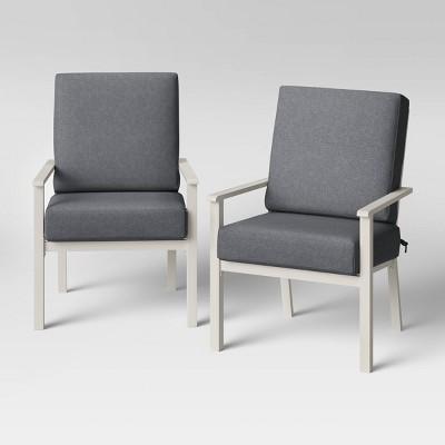 2pk Hillsville Patio Club Chair - Threshold™