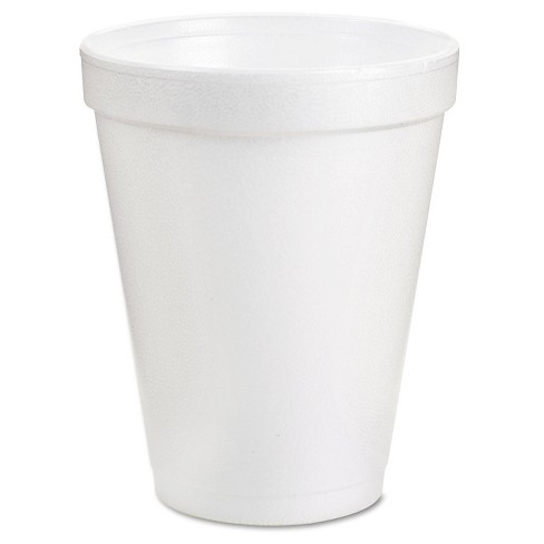 DartR White Drinking Cups 8oz 100 Ct