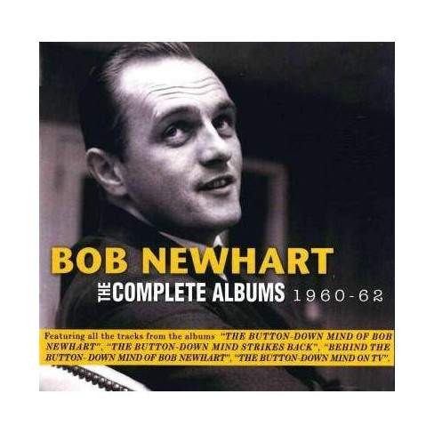 Bob Newhart - Complete Albums: 1960-1962 (CD) - image 1 of 1