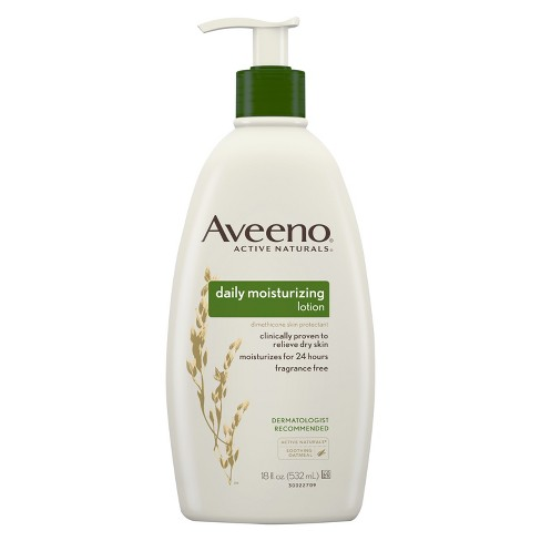 Unscented Aveeno Daily Moisturizing Lotion For Dry Skin - 18 fl oz - image 1 of 3