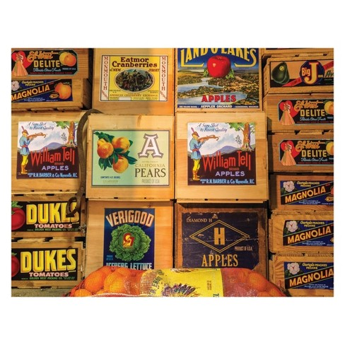 Springbok Vintage Labels 500pc Jigsaw Puzzle - image 1 of 1