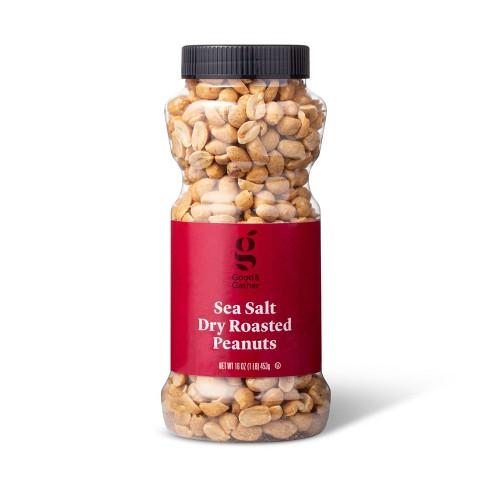 Sea Salt Dry Roasted Peanuts - 16oz - Good & Gather™ - image 1 of 3